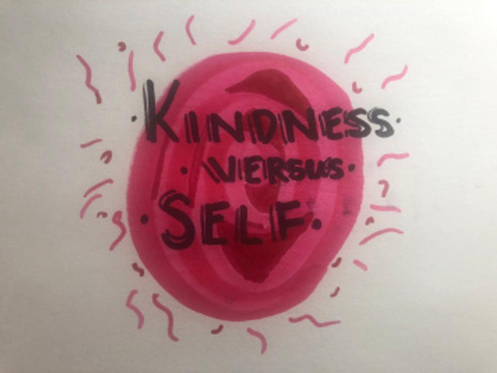 kindness versus self
