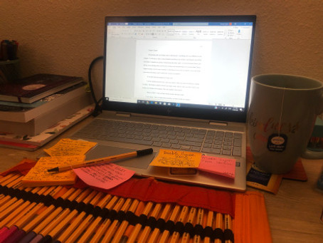 Endless Sticky Notes, Pending Titles, and Lady Grey Tea