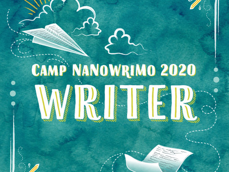 First Five Days of Camp NaNoWriMo: April 2020