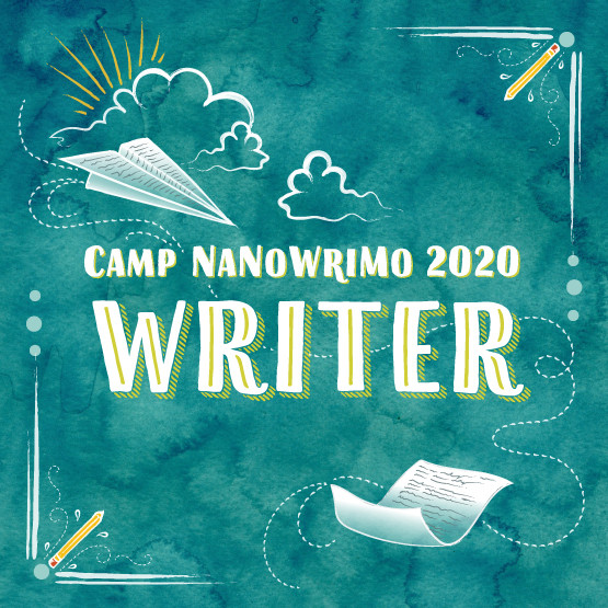 Camp NaNoWriMo - Writer - Badge