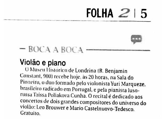 Folha de Londrina - Agosto_2015