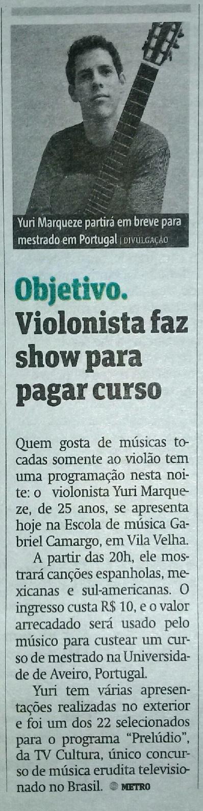 Metro Vitória 31-07-2014