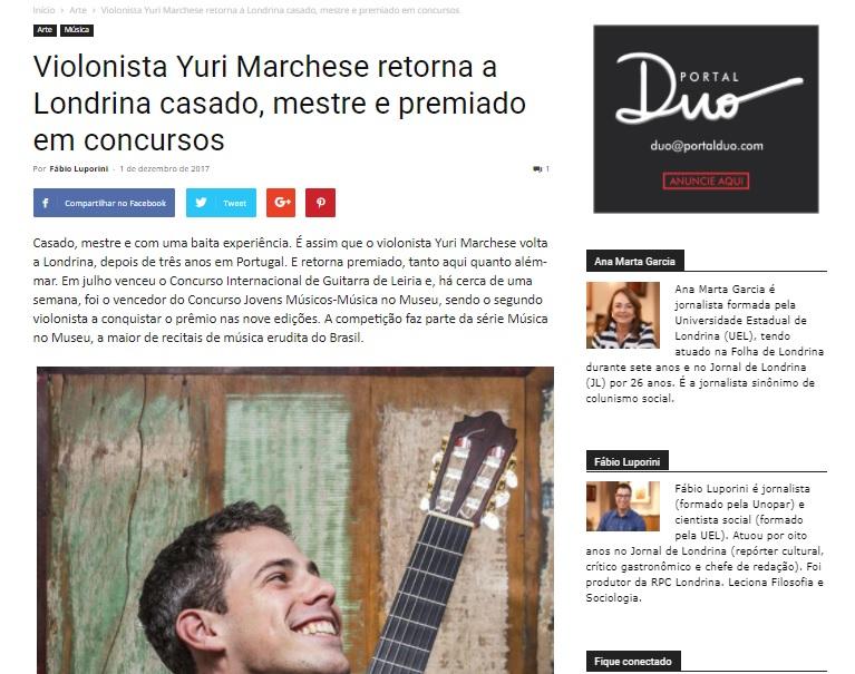 Portal Duo (Londrina) 1-12-2017