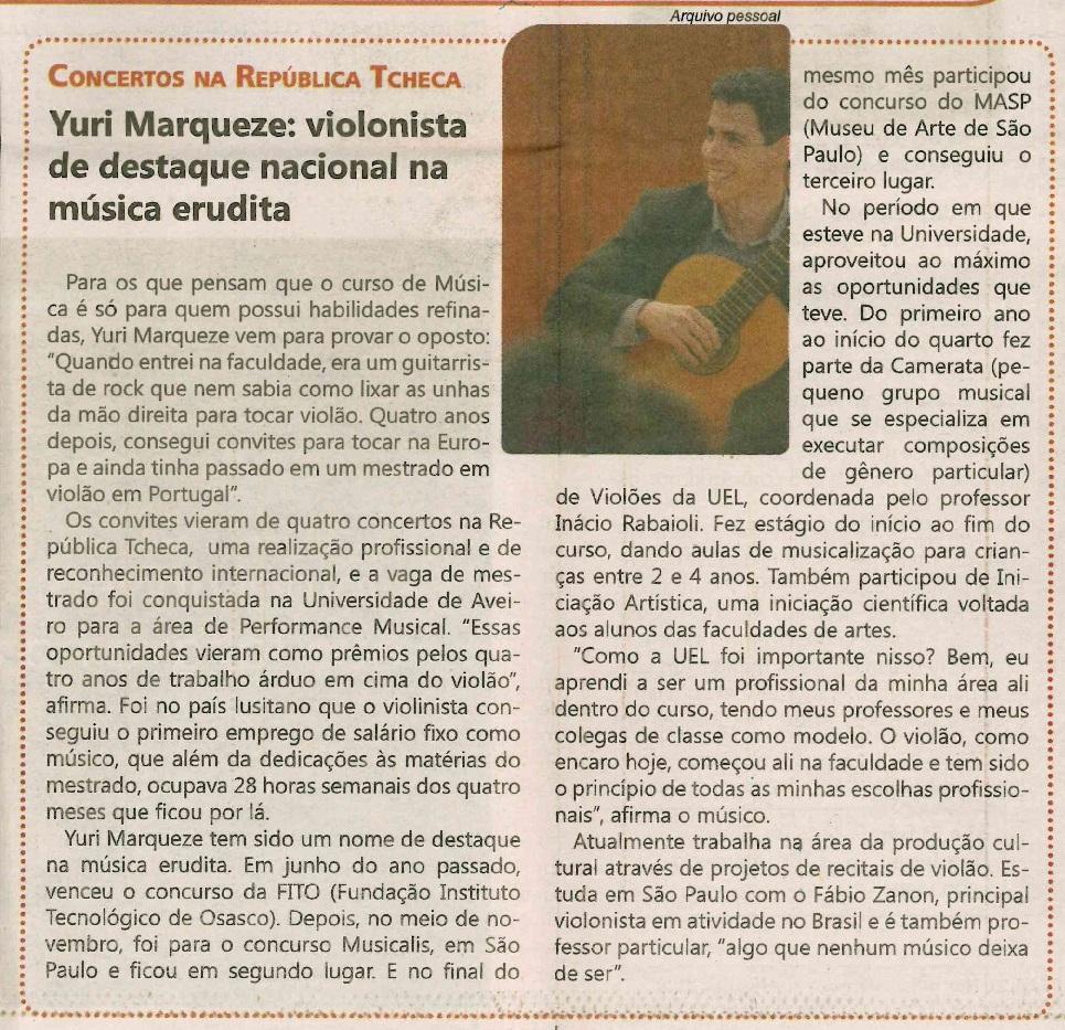 Informativo Acadêmico (UEL) 7-2013