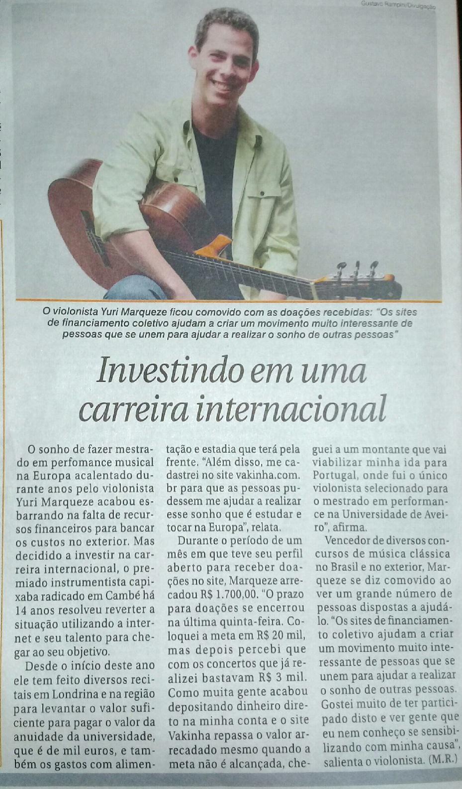 Folha de Londrina 21-08-2014