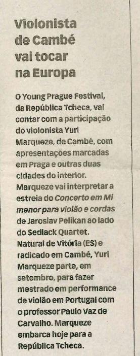 Jornal de Londrina 24-08-2011