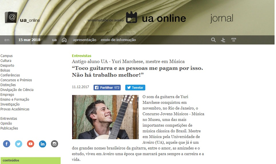 UA Online (Portugal) 2017