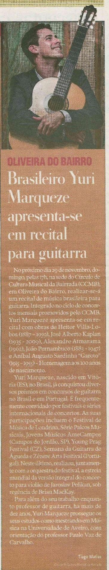 Jornal da Bairrada (PT) 26-09-2015