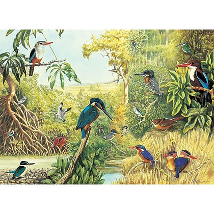 The Kingfishers 1000 Piece Jigsaw Puzzle
