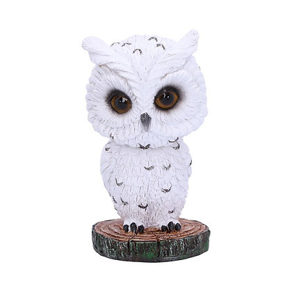 Bobble Feather Owl Ornament 10.5cm