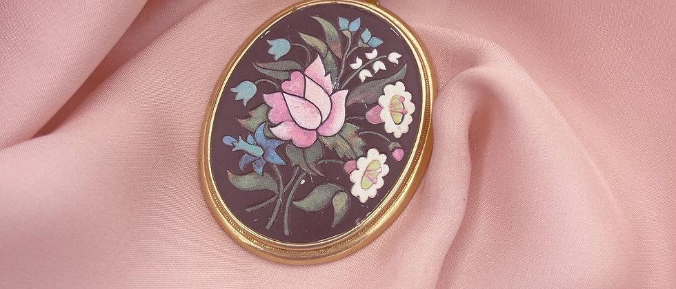 Floral Avon pendant