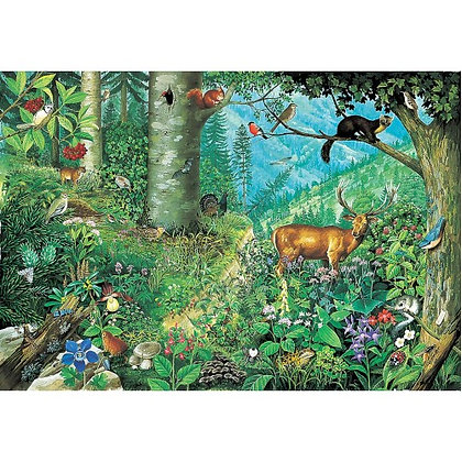 Mountain Forests 1000 Piece Jigsaw Puzzle