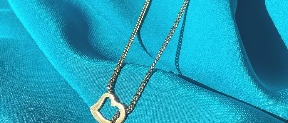 Cute Avon heart necklace