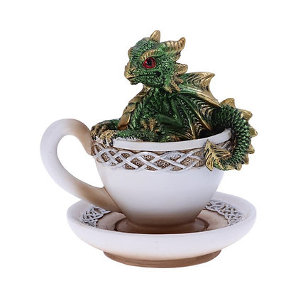 Green Dracuccino Ornament 11.3cm