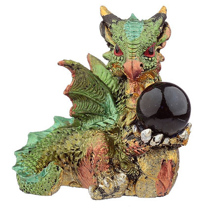 Dragon With All Seeing Orb 5cm