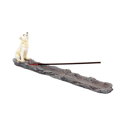 Wolf Call Incense Holder - 27.8cm