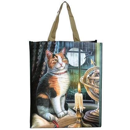 Adventure Awaits Cat Shopping Bag - Lisa Parker