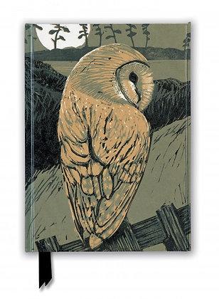 Barn Owl Embossed Journal