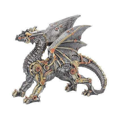 Dracus Machina Mechanical Steampunk Dragon Ornament - 20.5cm