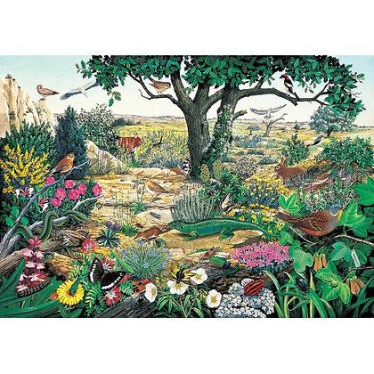 Heathland and Moorland 1000 Piece Jigsaw Puzzle