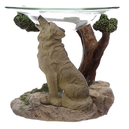 Protector of the North Spirit of the Forest Wolf Oil Burner Ornament