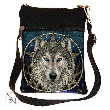 Wild One Wolf Shoulder Bag 23cm (Lisa Parker)