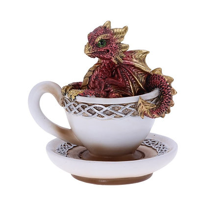 Red Dracuccino Ornament 11.3cm