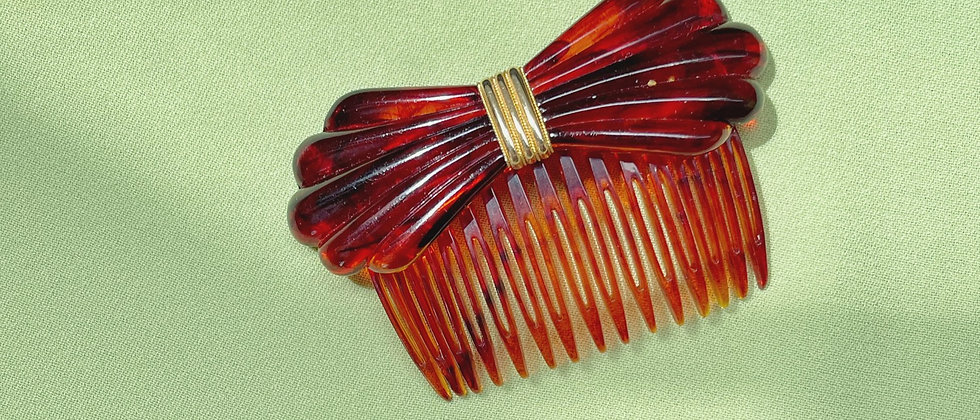 Bow tie style hair jewel