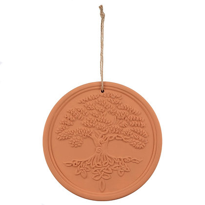 Terracotta Tree of Life Wall Plaque - Lisa Parker