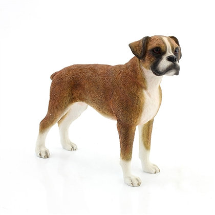 Leonardo Boxer Dog Ornament