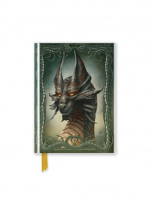 Black Dragon Embossed Pocket Book