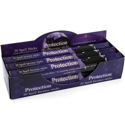 20 Protection Spell Incense Sticks - Lisa Parker