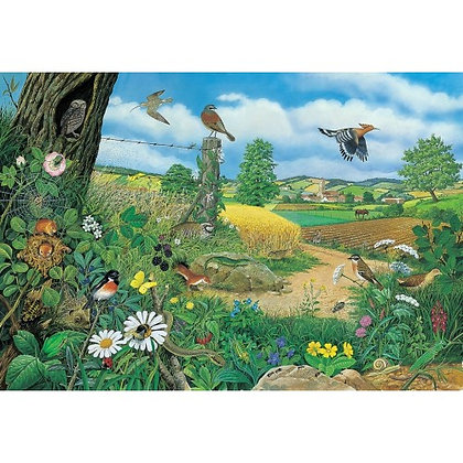 Woods and Fields 1000 Piece Jigsaw Puzzle