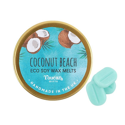 Coconut Beach Eco Soy Wax Melts