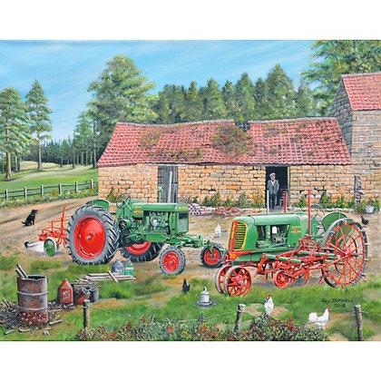 Two Olivers 1000 Piece Jigsaw Puzzle