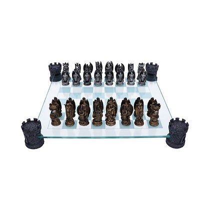 Kingdom of The Dragon Chess Set - 43cm