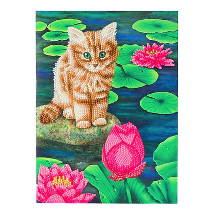 Lily's Pond Giant Crystal Art Card Kit