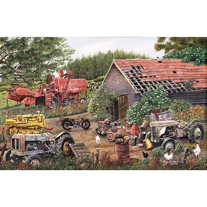 Working Days Over 1000 Piece Jigsaw Puzzle