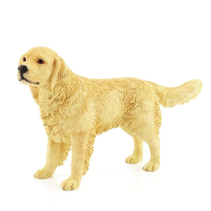 Leonardo Golden Retriever Dog Ornament