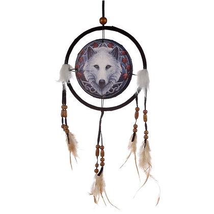 Guardian of The Fall Wolf Lisa Parker Dreamcatcher - 16cm