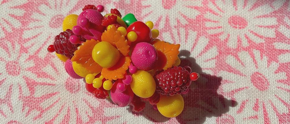 Tutti frutti hair clip