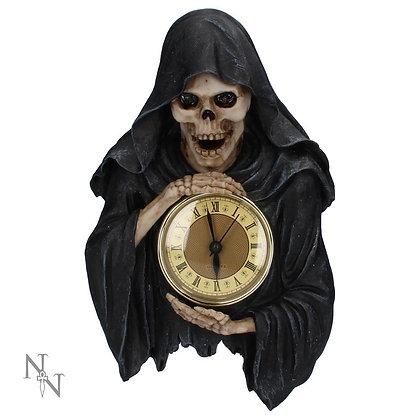 Darkest Hour Wall Hanging Grim Reaper Clock - 28cm