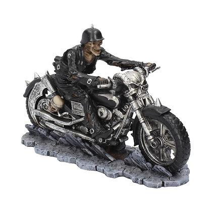 Hell on the Highway Biker Ornament - James Ryman - 20.5cm