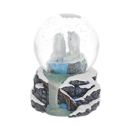 Warriors of Winter Snowglobe Ornament - 14.5cm - Lisa Parker