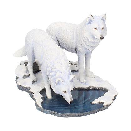 Warriors of Winter Wolf Ornament - Lisa Parker - 35cm