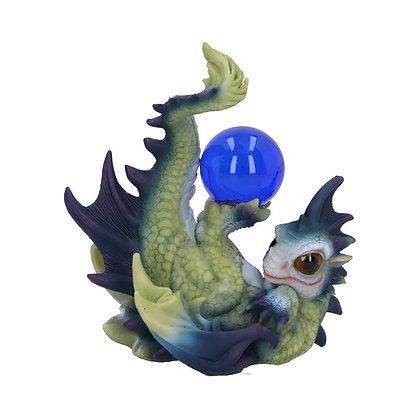 Playful Hatchling Dragon Ornament - 14cm