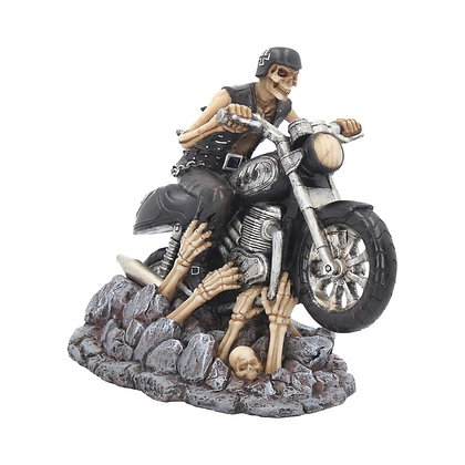Ride Out of Hell Biker Ornament - James Ryman - 16cm