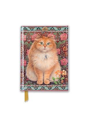 Blossom Cat Embossed Pocket Book