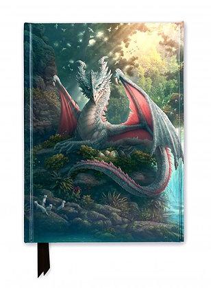 Mama Leaf Dragon Embossed Journal