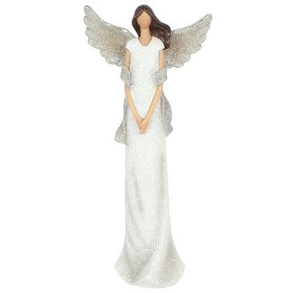Aurelia Glitter Angel Ornament